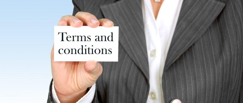 составление terms and conditions of use онлайн в Украине